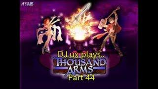 D.Lux plays..Thousand Arms (1998/PS1) Part 44: Boss Battle!:Spirit Guardian..Jyabil (!?).