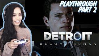 Detroit: Become Human PART 2 - Valkyrae Full Playthrough