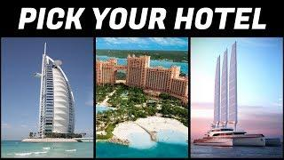 Which luxury hotel matches your style? Lifestyle personality test | Pick one quiz