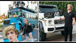 All Cars Logan Paul 2018 | Luxury Cars 2018