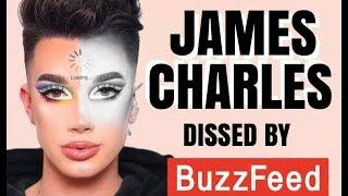 JAMES CHARLES SLAMMED BY BUZZFEED
