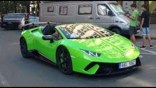 Super & Luxurycars Compilation in Germany & Praque!