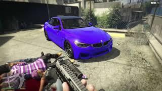 GTA 5 MICHAEL STEALING LUXURY CARS