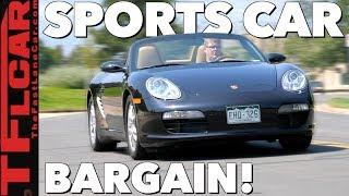Here's Why a Used Porsche Boxster 987 is the Sports Car Bargain of the Century