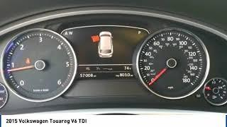 2015 Volkswagen Touareg Corona CA VP3017