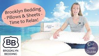 Brooklyn Bedding Accessories Review - Luxury Cooling Pillow, Latex Pillow & TENCEL Sheets + COUPONS!