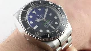 2018 Rolex Deepsea D-Blue 126660 (New Sizing!) Luxury Watch Review