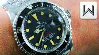 Vintage Rolex Red Submariner 1680: Rolex Submariner Red Luxury Watch Review