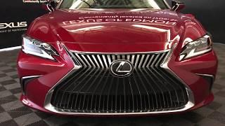 Red 2019 Lexus ES 350 Luxury Package Review