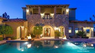 Southern Highlands Luxury Home | 32 Olympia Canyon | Las Vegas NV