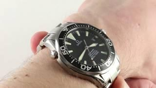 Omega Seamaster Diver 300m Chronometer 2254.50.00 Luxury Watch Review