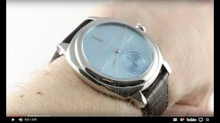 Laurent Ferrier Galet Micro-Rotor Square LCF013.AC.CG7.1 Luxury Watch Review