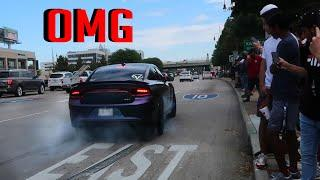 Muscle Cars LAY DOWN THE RUBBER Leaving Cars and Coffee Houston September!!!