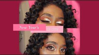 New Years Makeup????| Glitter Cutcrease