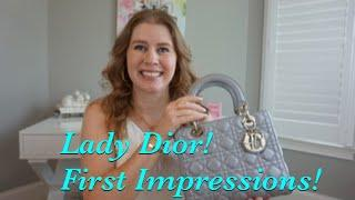 Lady Dior, First Impressions and WIMB!!!