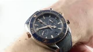 Omega Seamaster Planet Ocean 600M Chronograph 215.23.46.51.03.001 Luxury Watch Review