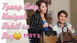 Amy Perez Luxury Bag Collection Part 2! Umiyak dahil sa bag