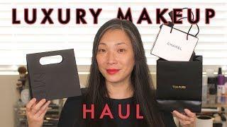 LUXURY MAKEUP HAUL - Tom Ford, Chanel, NARS, Sisley, Cle de Peau