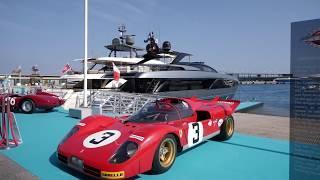 Luxury Yacht - Riva 110' Dolcevita World Premiere at the Yacht Club de Monaco