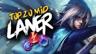 Top 20 MID LANER Plays #15 | League Of Legends