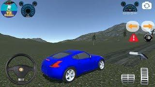 370Z W211 and Pajero Simulator | Offroad Luxury Blue Nissan 370Z 3D Android GamePlay FHD