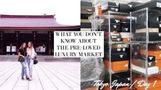 THE TRUTH ABOUT PRE-LOVED LUXURY IN JAPAN????????|Tokyo, Japan Day 1