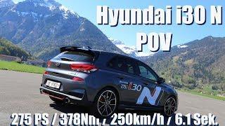 2018 Hyundai i30 N | Bergballern POV + Vorstellung | Habkern (Berner Oberland)