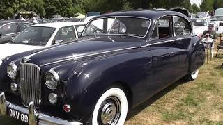 Jaguar Mark VII four door luxury car 1952