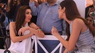 mahira khan | maya ali | and reema khan at lux  style ceremony last night recent clicks