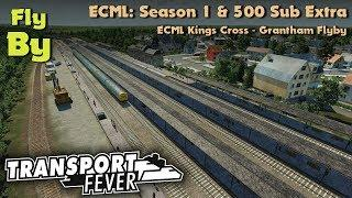 Transport Fever: ECML Season 1 & 500 Sub Extra! [Flyby]