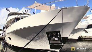 2019 Ocean Alexander 100 Luxury Yacht - Deck and Interior Walkaround - 2018 FLIBS