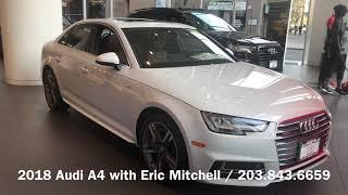 2018 Audi A4 / Luxury Car of the Year / Eric Mitchell
