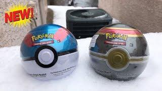 Opening *BRAND NEW* Pokemon Card Tins with ULTRA RARES INSIDE! (Great + Luxury Ball)