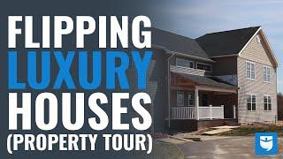 Luxury House Flipping Property Walk-Through | 3 Tips For Flipping Success