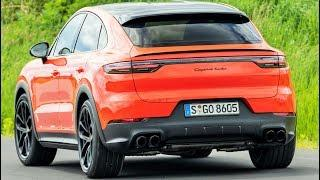 2020 Orange Porsche Cayenne Coupe - Luxury Performance SUV