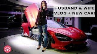 HUSBAND & WIFE SHOPPING VLOG: New McLaren 720s + Shopping the Dior Sales! | Sophie Shohet