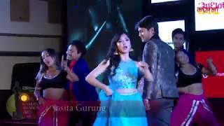 Jasita Gurung, Pradip Khadka in Kamana Film Awards 2075