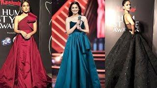 Pakistani Actresses Best And Worst Dress At Hum Style Awards 2018 - Iqra Aziz, Farhan Saeed, Aiman