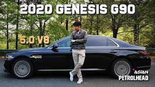 2020 Genesis G90 5.0 V8 Review - Sounds great! Loud, Bold & Luxury Sedan from Genesis.