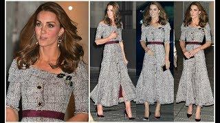 DUCHESS OF CAMBRIDGE BACK TO HER BEST LUXURY STYLE IN A NEW ERDEM DRESS+JIMMY CHOO CLUTCH & HEELS