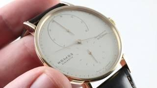 Nomos Glashutte Lambda 39 ref. 953 Luxury Watch Review