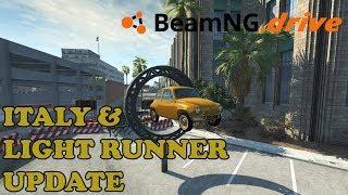 BeamNG.drive | Italy & Light Runner Update | Logitech G29 | PC Gameplay