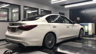 2018 Infiniti Q50 Silver Sport Dyno Run