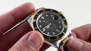 Pre-Owned Rolex Submariner 16803 Luxury Watch Review