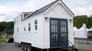 "The ""Maverick"" Superior Luxury Tiny Home Company with Contemporary Farmhouse Flair"
