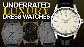 Underrated Luxury Dress Watches (OMEGA, Grand Seiko, Montblanc, & Many More)