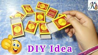 Waste materials craft Idea | Best out of waste Matchbox craft idea | DIY art and craft | craft ideas