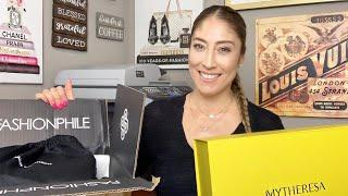 LUXURY HAUL   TWO NEW BAGS   SAINT LAURENT AND VALENTINO BAGS   UNBOXING