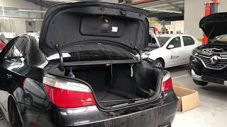 Bmw E60 520d Trunk Closing (FIX) Închidere portbagaj, amortizor închidere portbagaj (Rezolvare)