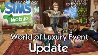 The Sims Mobile World of Luxury Event Update